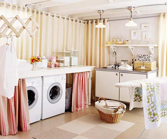 Cozinha e lavanderia integradas: dicas práticas para pequenos espaços.