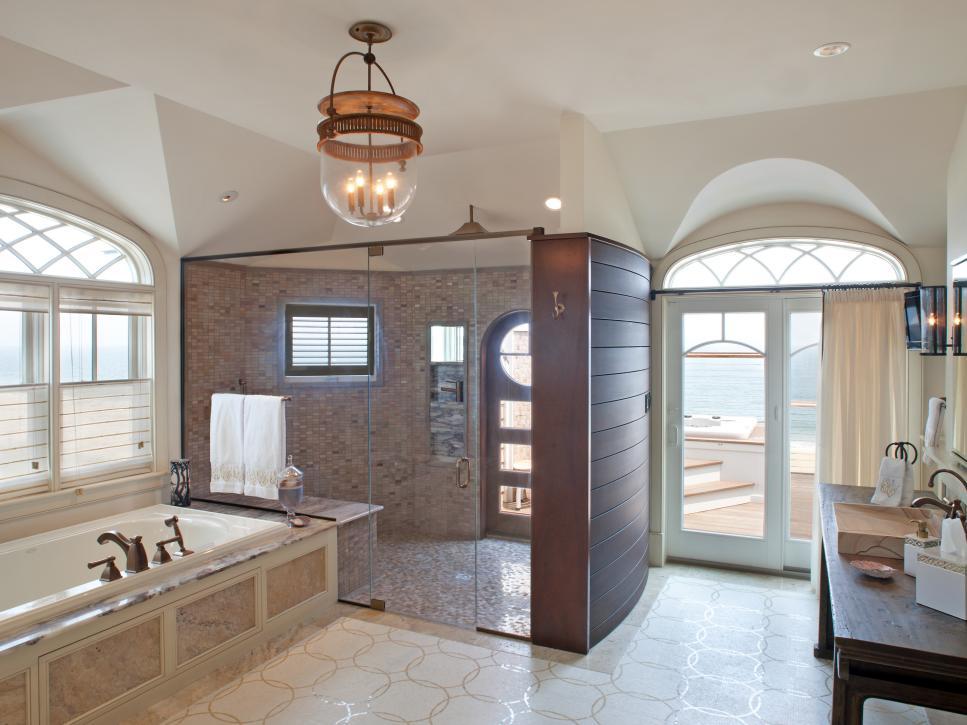 Inspirações para decorar o banheiro da sua casa de praia