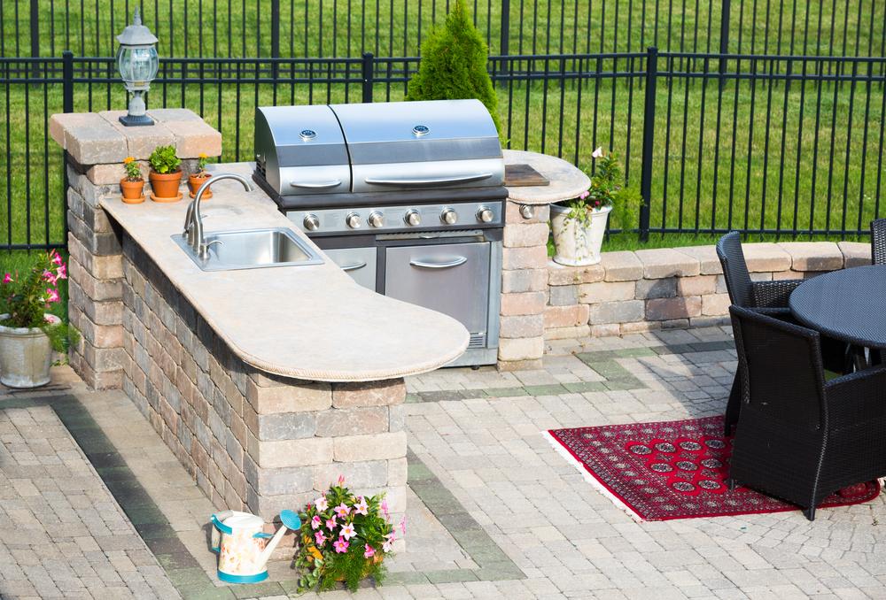 Como instalar uma cozinha ao ar livre