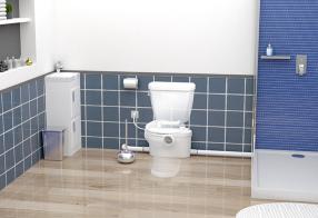 Instale um novo banheiro completo em tempo recorde