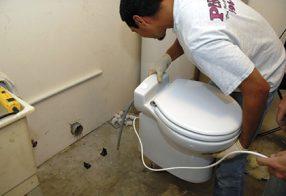 Em que situação o triturador sanitário pode ser utilizado?