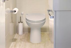 Como trocar um vaso sanitário de lugar com o Sanicompact